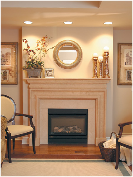 When comparing these fireplace mantels