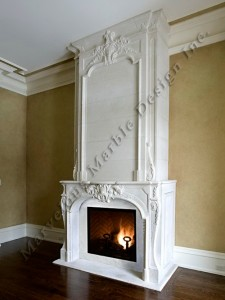 Stone mantelpiece custom limestone fireplace over Luxury fireplaces luxury homes